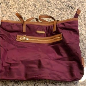 Eggplant Michael Kors purse
